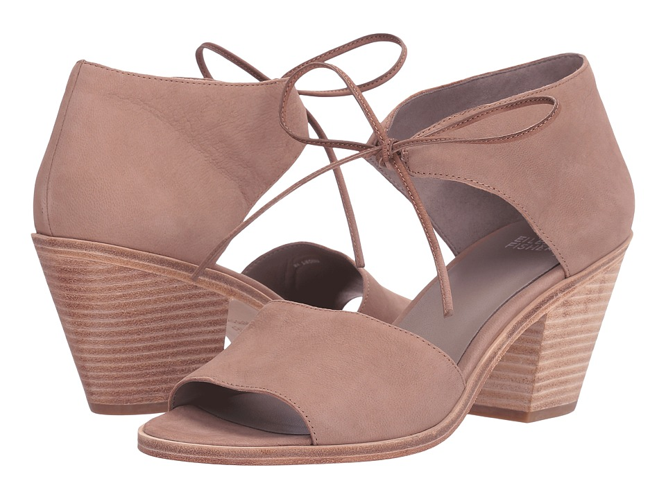 Eileen Fisher Ann (Earth Tumbled Nubuck) High Heels