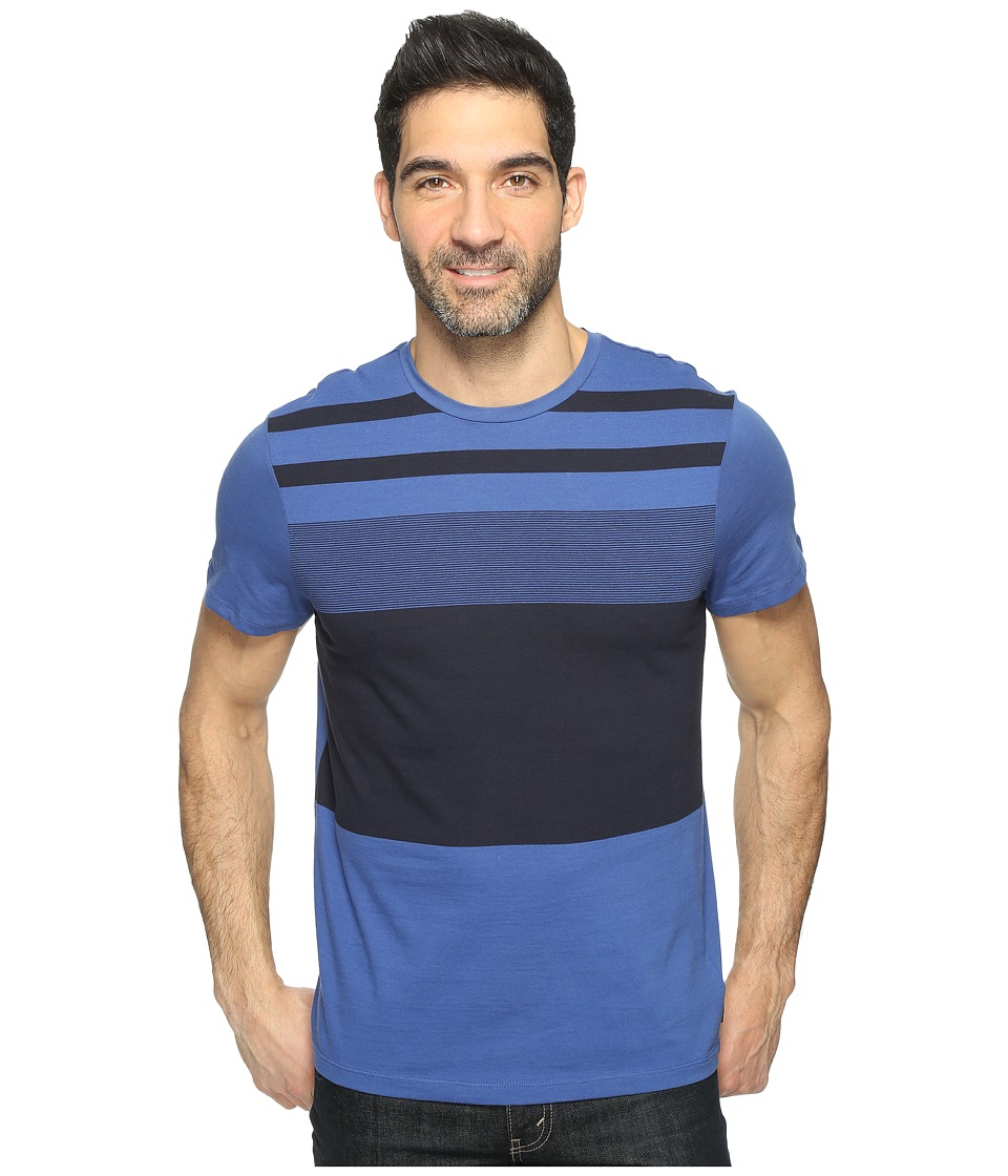 Calvin Klein - Pima Cotton Stripe Tee (Loyalty) Men's T Shirt