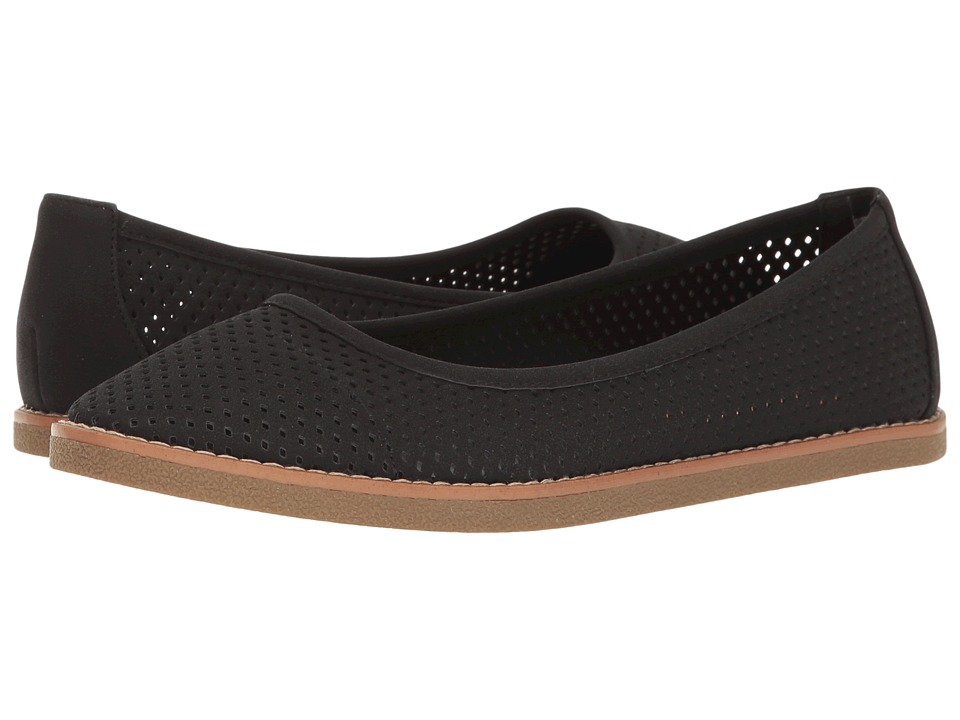 Rocket Dog - Kaira (Black Francois) Women's Slip on Shoes