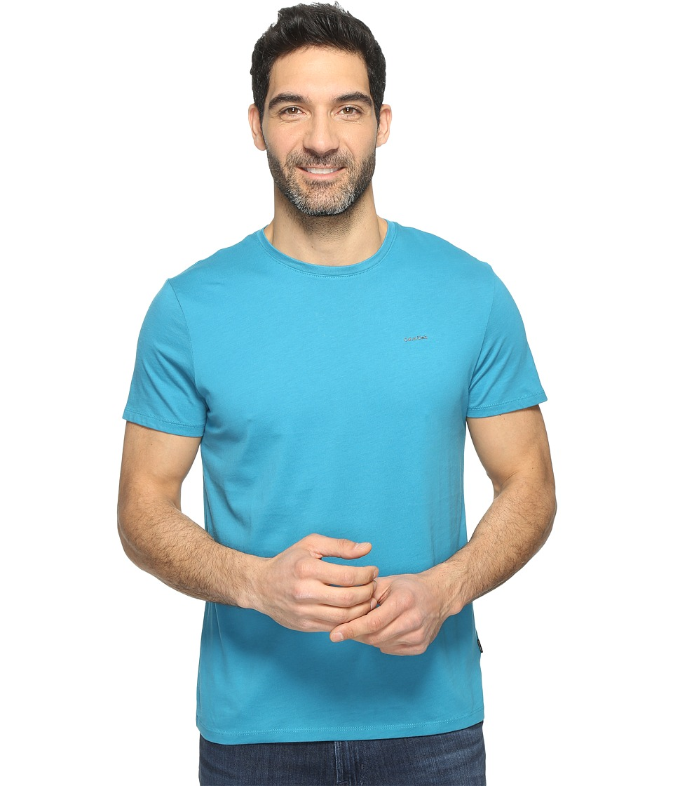 Calvin Klein - Pima Cotton Tee (Mosaic Blue) Men's T Shirt