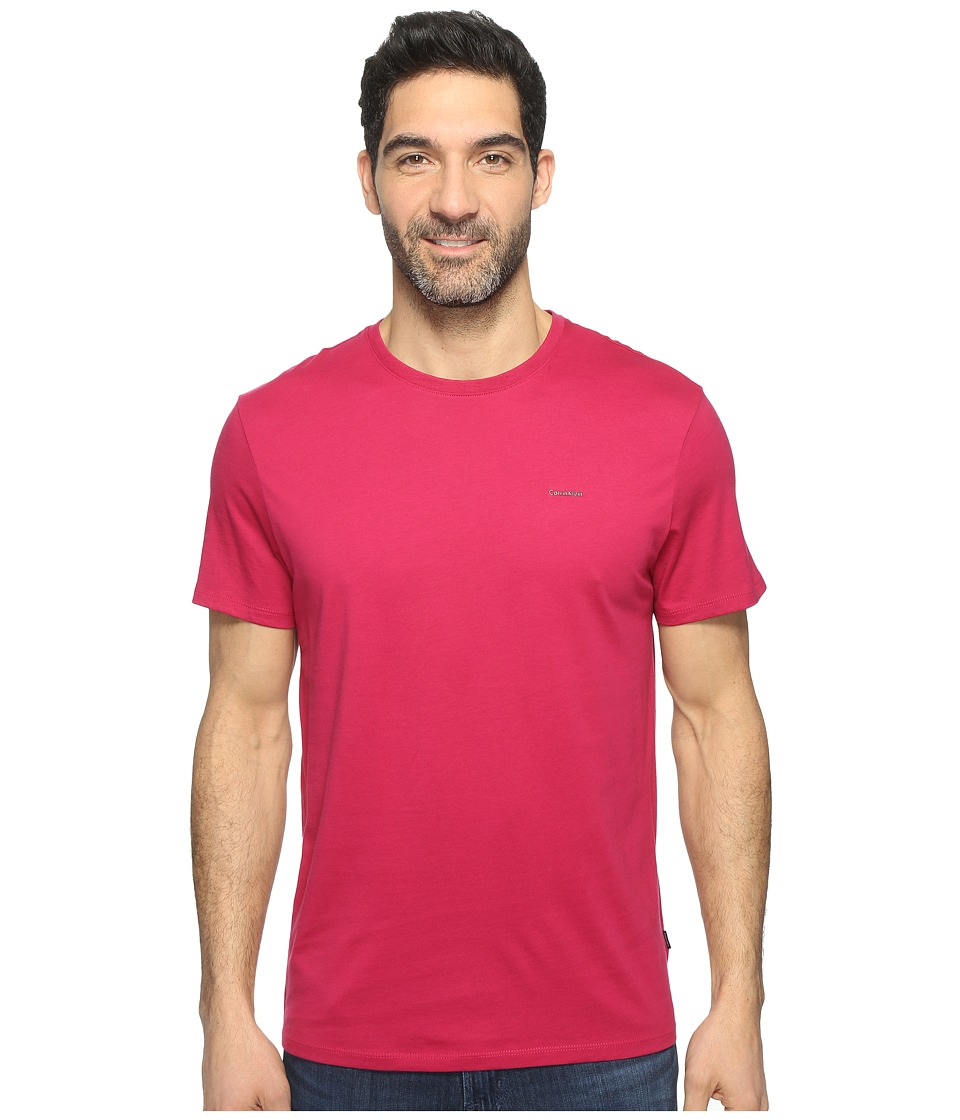 Calvin Klein Pima Cotton Tee (Dark Magenta) Men