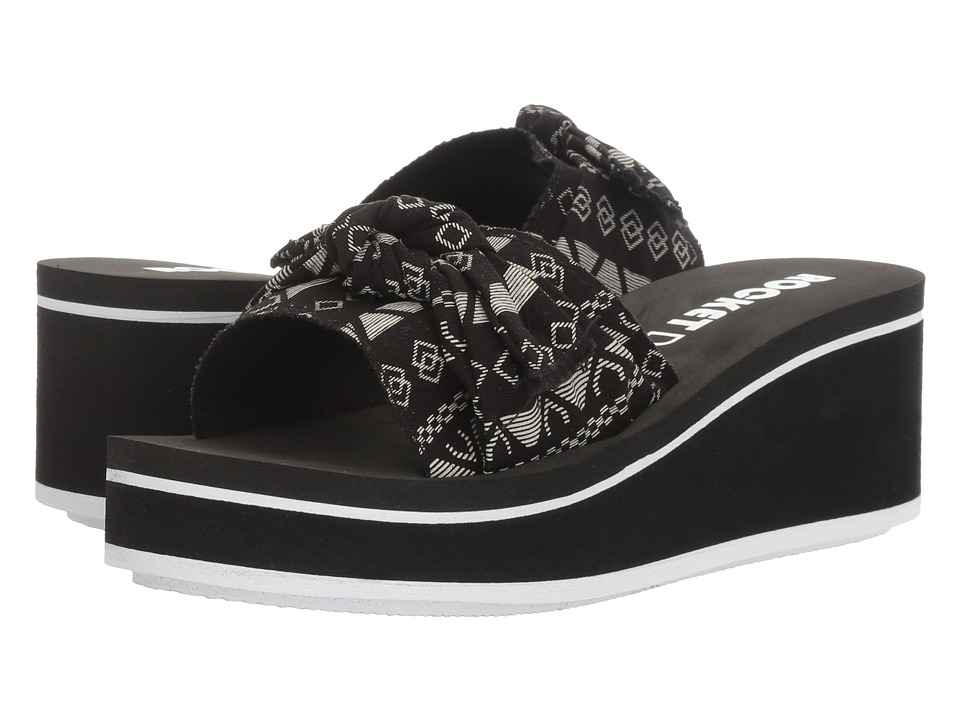 Rocket Dog - Coronel (Black Sonora) Women's Sandals
