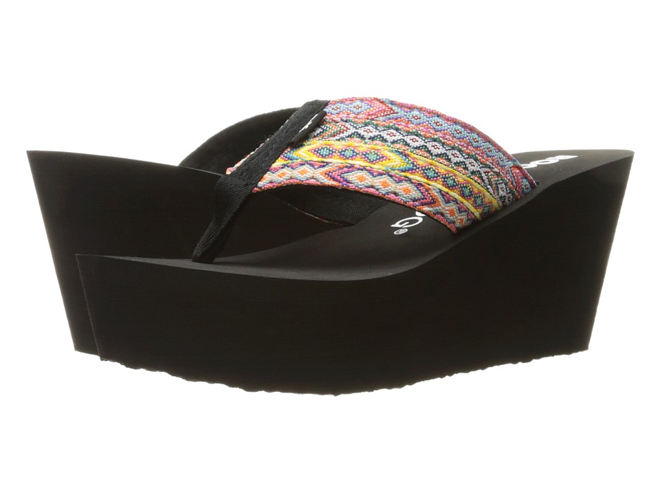 Rocket Dog - Diver (Black Multi Webster) Women's Sandals