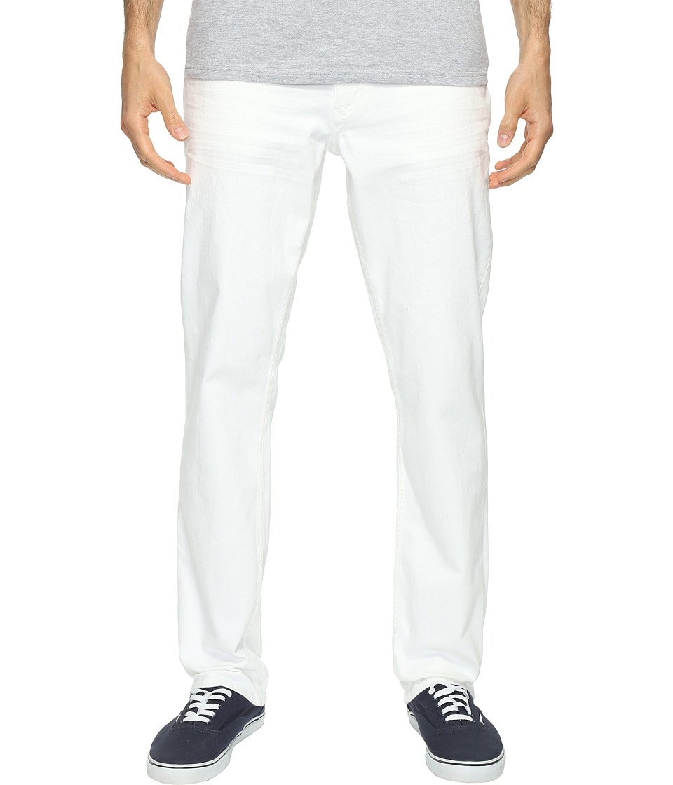 Calvin Klein Jeans - Slim Straight Jeans in White Wash (White Wash) Men's Jeans