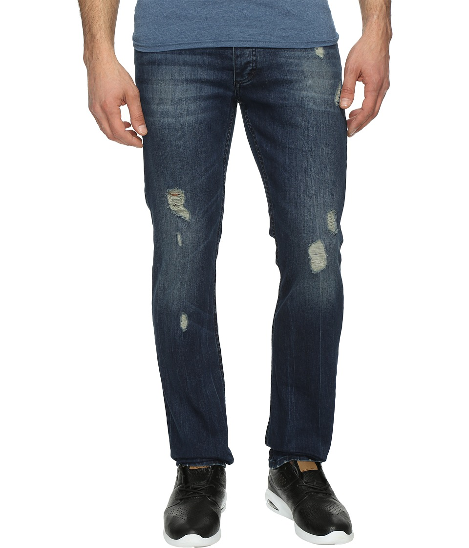 Calvin Klein Jeans - Slim Fit Jeans in Abbott Kinney Destructed Wash (Abbot Kinney De) Men's Jeans