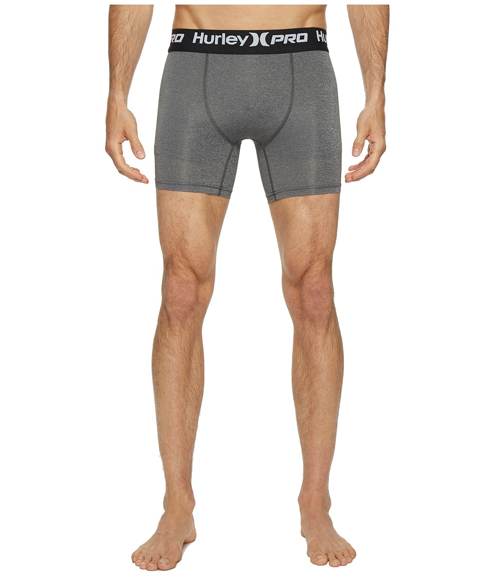 Hurley - Dri-FIT Surf Undershort (Charcoal Heather) Men's Underwear