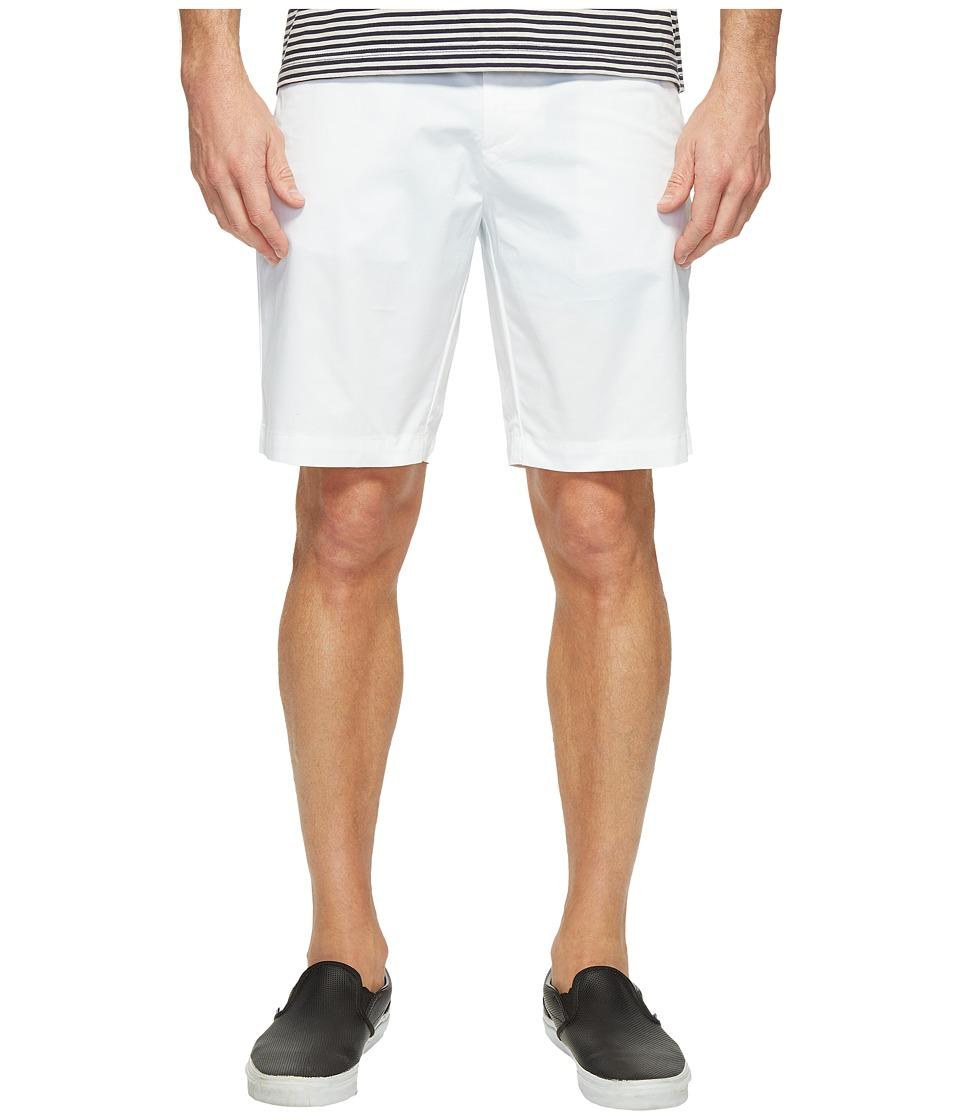 Calvin Klein Twill Walking Shorts (White) Men