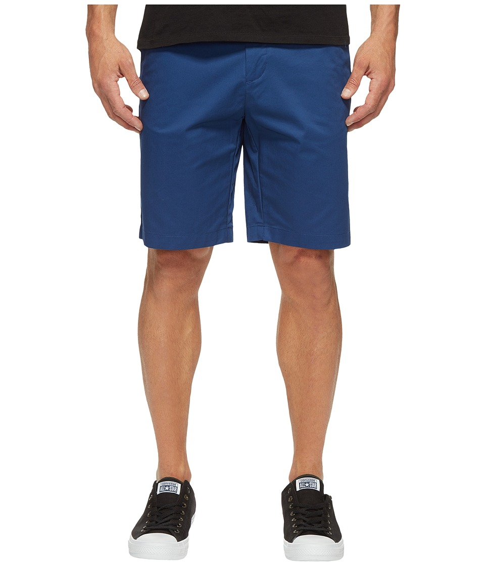 Calvin Klein Twill Walking Shorts (Estate Blue) Men