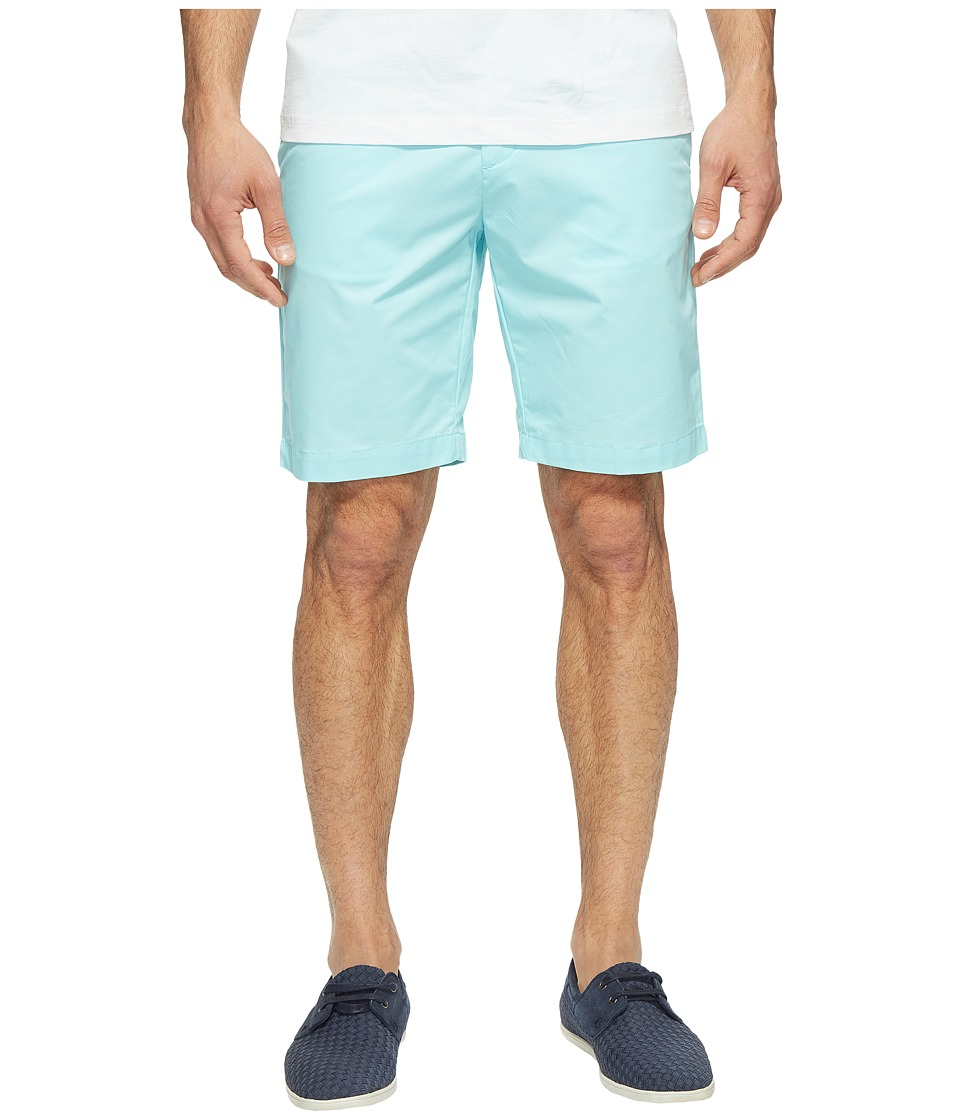 Calvin Klein - Twill Walking Shorts (Aqua Air) Men's Shorts