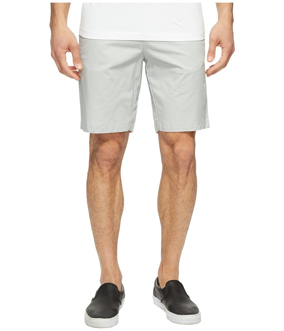 Calvin Klein - Twill Walking Shorts (Cool Steel) Men's Shorts