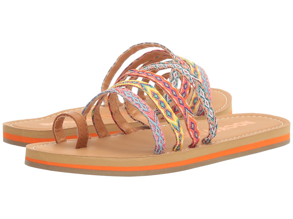 Rocket Dog - Puerto (Tan Multi Smooth/Webster) Women's Sandals