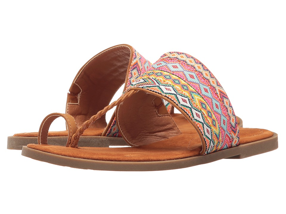 Rocket Dog Adela (Tan Smooth Multi Webbing) Women