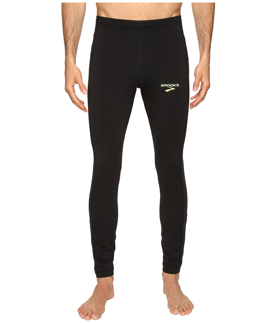 Brooks - Elite Tights (Black) Men's Clothing
