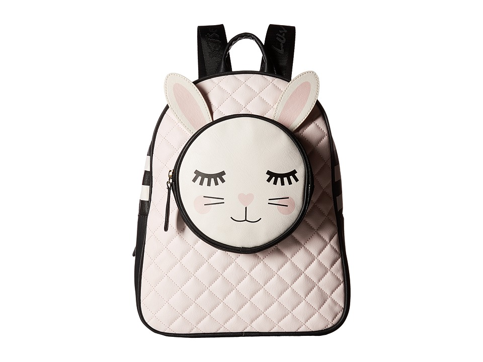 Luv Betsey - Smilbk Backpack (Pink/Black) Backpack Bags