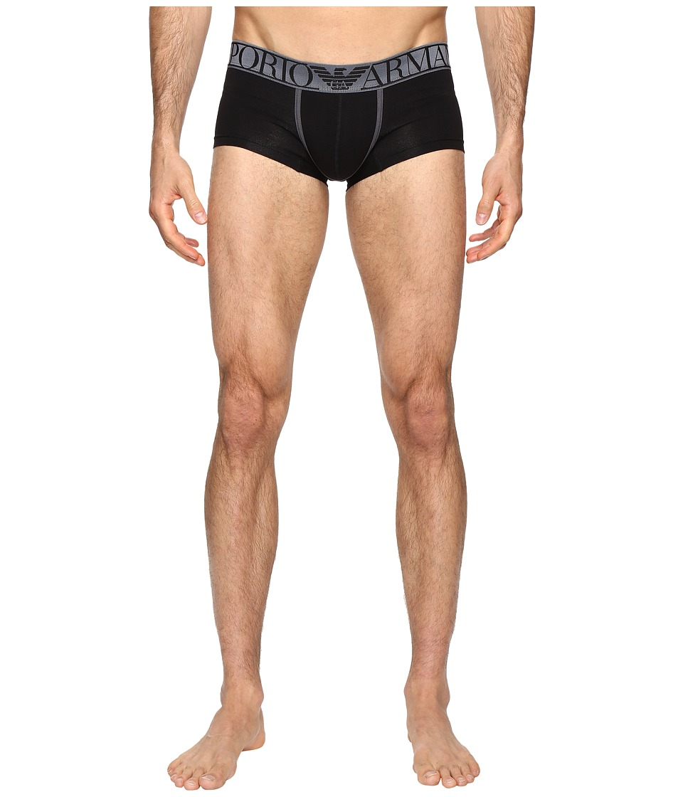 Emporio Armani - Magnum Trunk (Solid Black) Men's Underwear