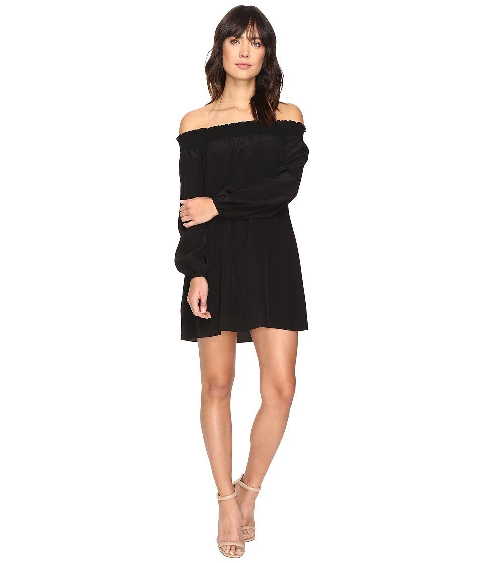 Nicole Miller - La Plage by Nicole Miller Rocky Dress Cover-Up (Black) Women's Swimwear