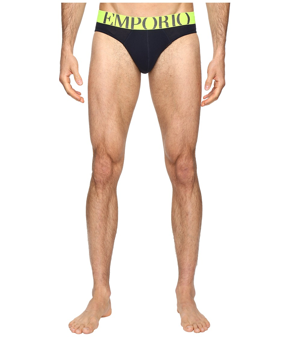 Emporio Armani - Athletic Eagle Brief (Marine) Men's Underwear
