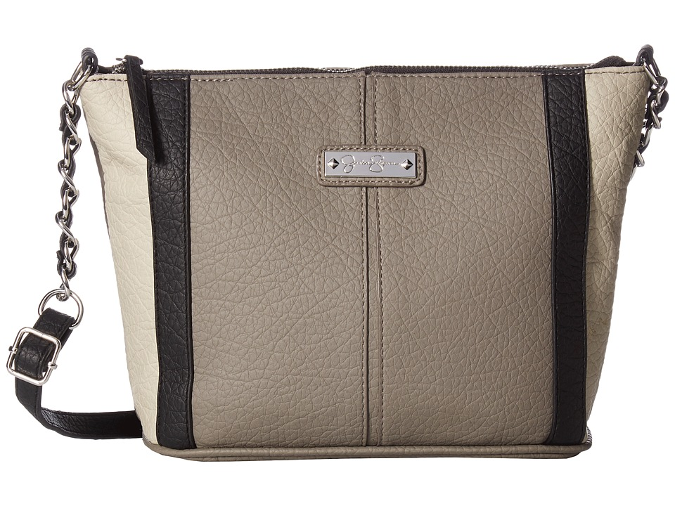 Jessica Simpson - Eliza Crossbody (Steel/Grey/Black/Cloud Grey) Cross Body Handbags
