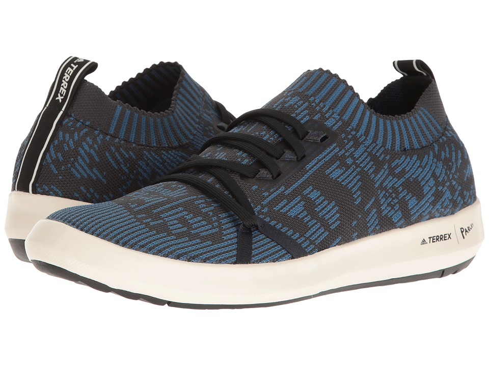 adidas Outdoor - Terrex CC Boat Parley (Core Blue/Core Black/Chalk White) Men's Shoes