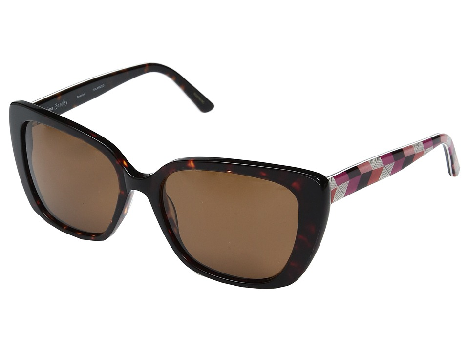 Vera Bradley - Beatrice (Bohemian Chevron) Fashion Sunglasses