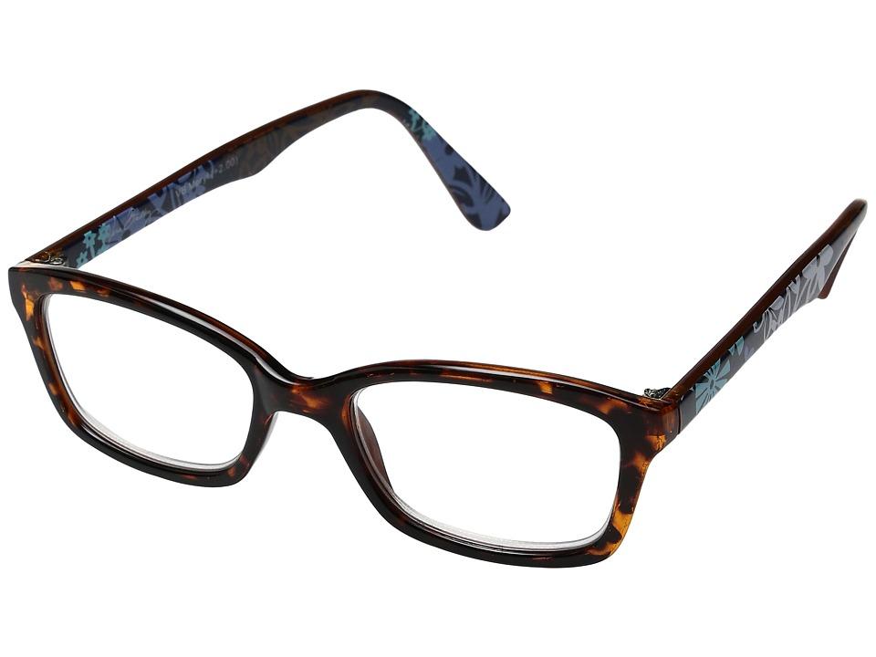 Vera Bradley - Meryl (Java Floral) Reading Glasses Sunglasses