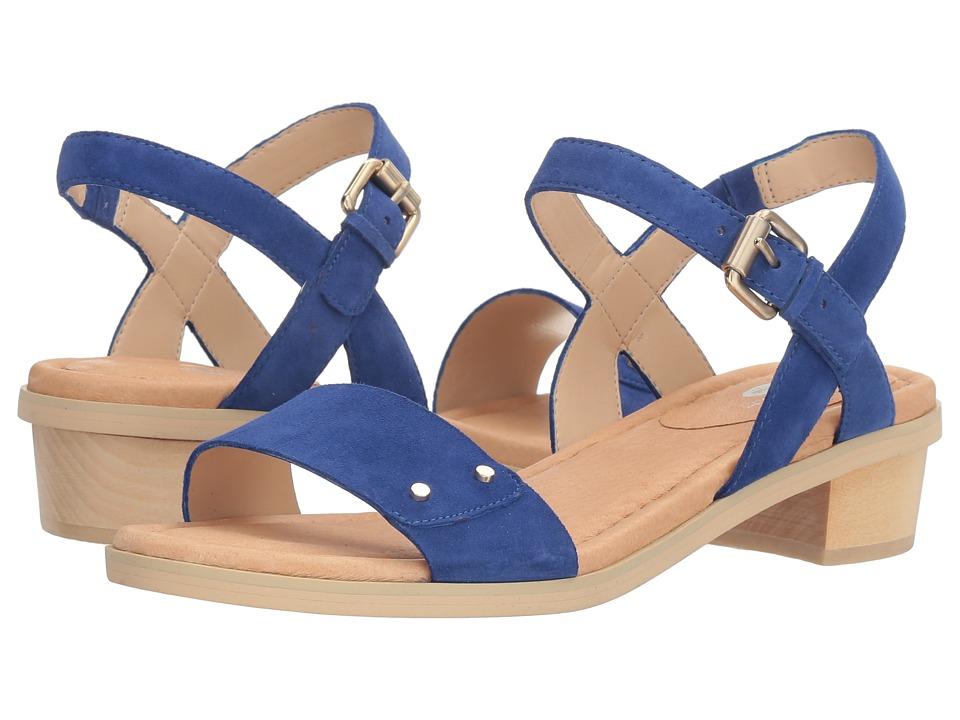 Dr. Scholl's - Wynne Original Collection (Sailer Blue Suede) Women's Shoes