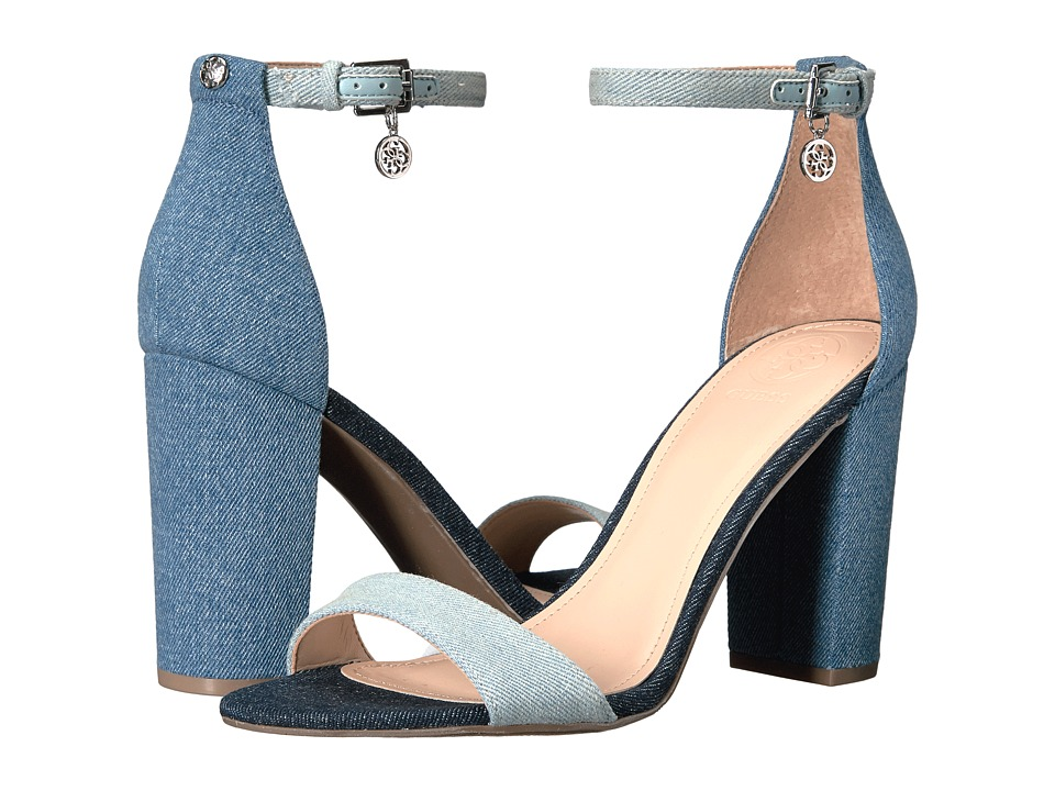 GUESS - Bamboo (Denim Blue) Women's Shoes