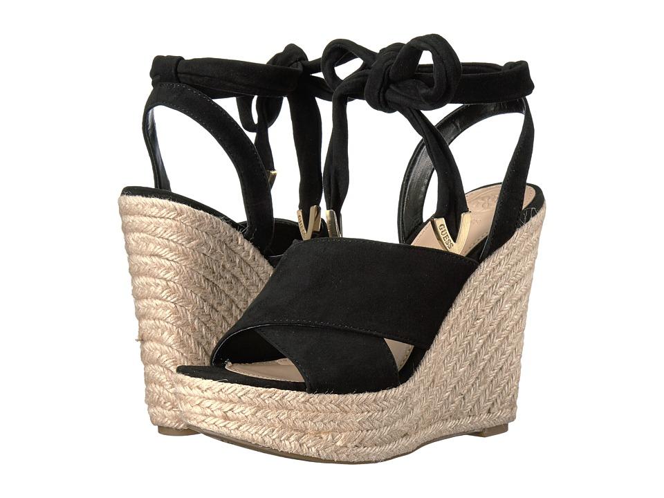 GUESS - Oshira (Black) Women's Shoes