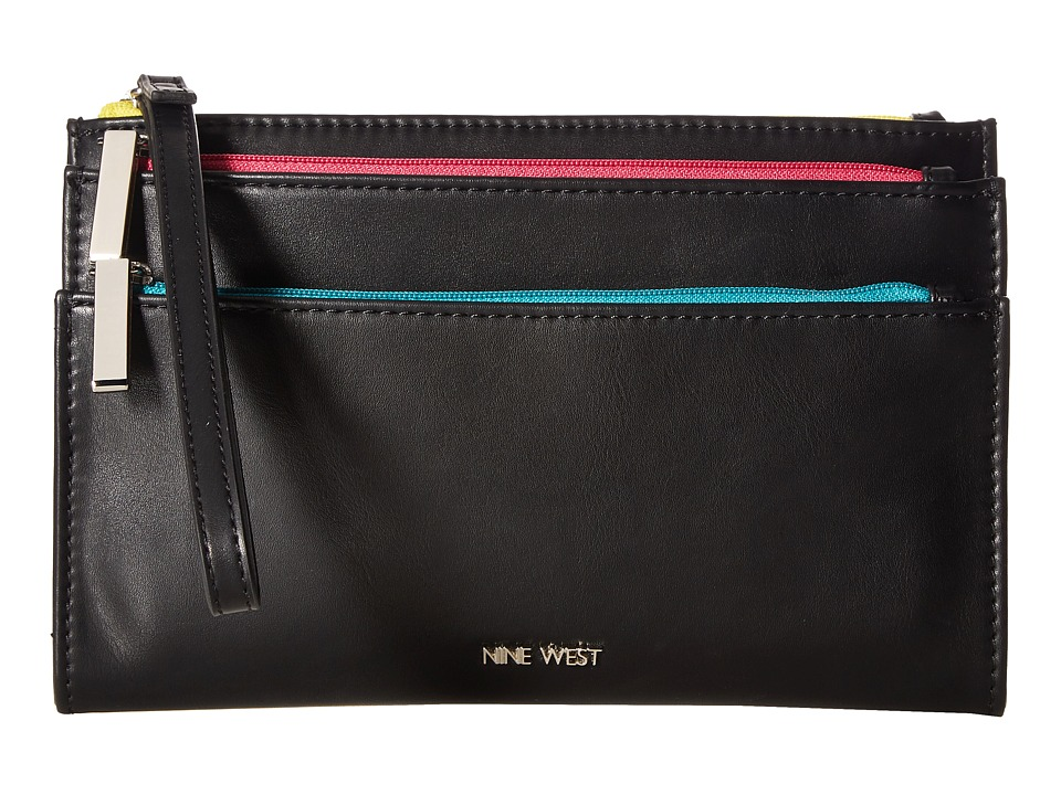 Nine West - Table Treasure SLG (Black) Handbags