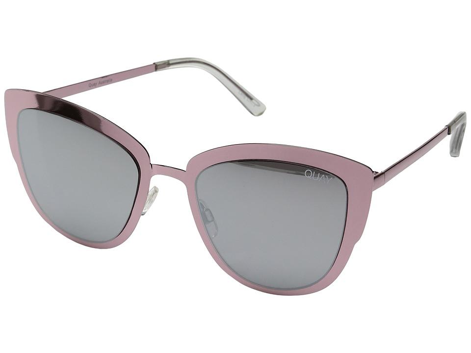 QUAY AUSTRALIA - Super Girl (Pink/Silver) Fashion Sunglasses