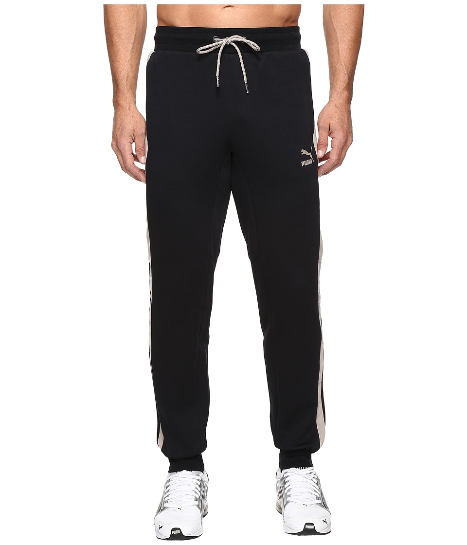 PUMA - Clyde Rolls Winter Sweatpants (Cotton Black) Men's Casual Pants