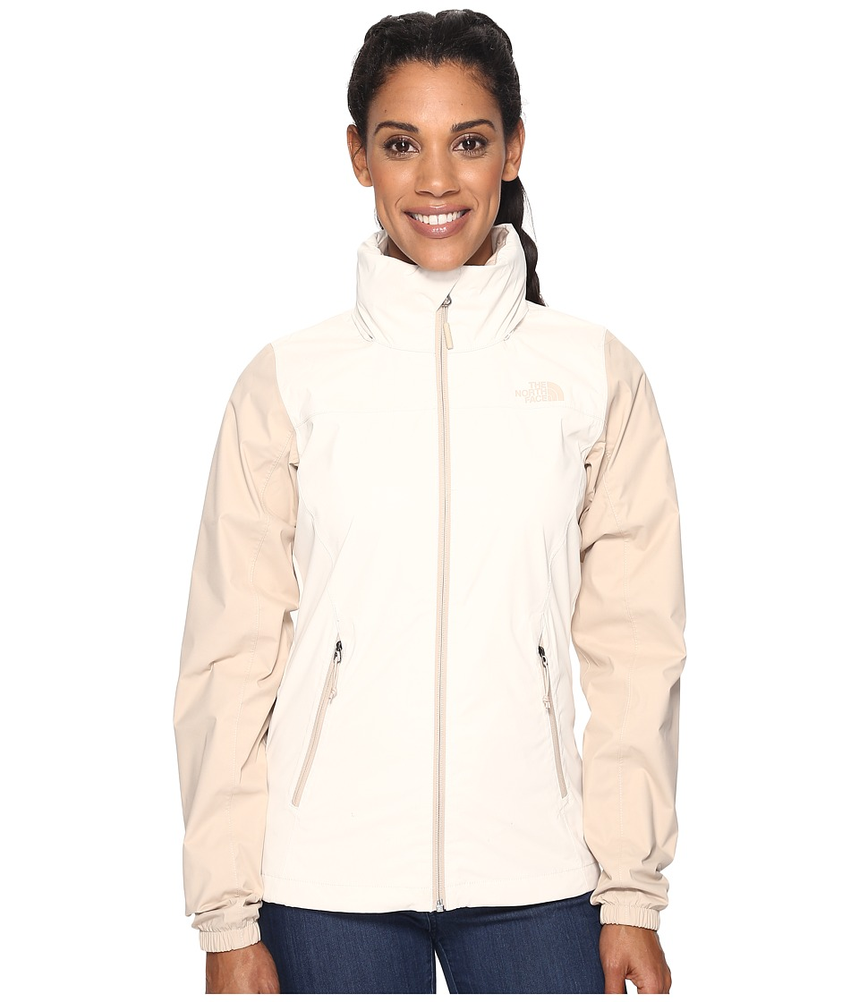 The North Face - Resolve Plus Jacket (Vintage White/Doe Skin Brown (Prior Season)) Women's Coat