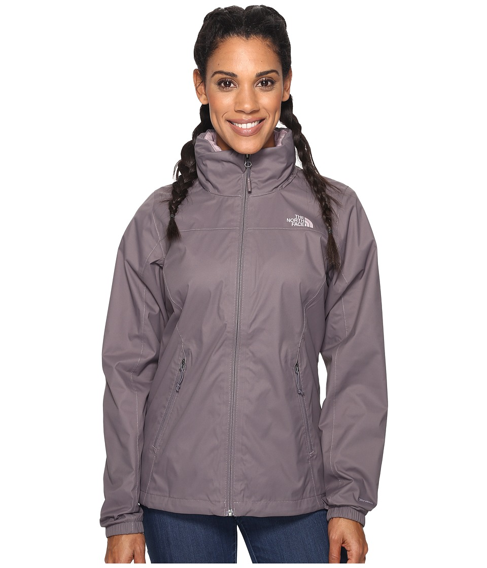The North Face - Resolve Plus Jacket (Rabbit Grey (Prior Season)) Women's Coat