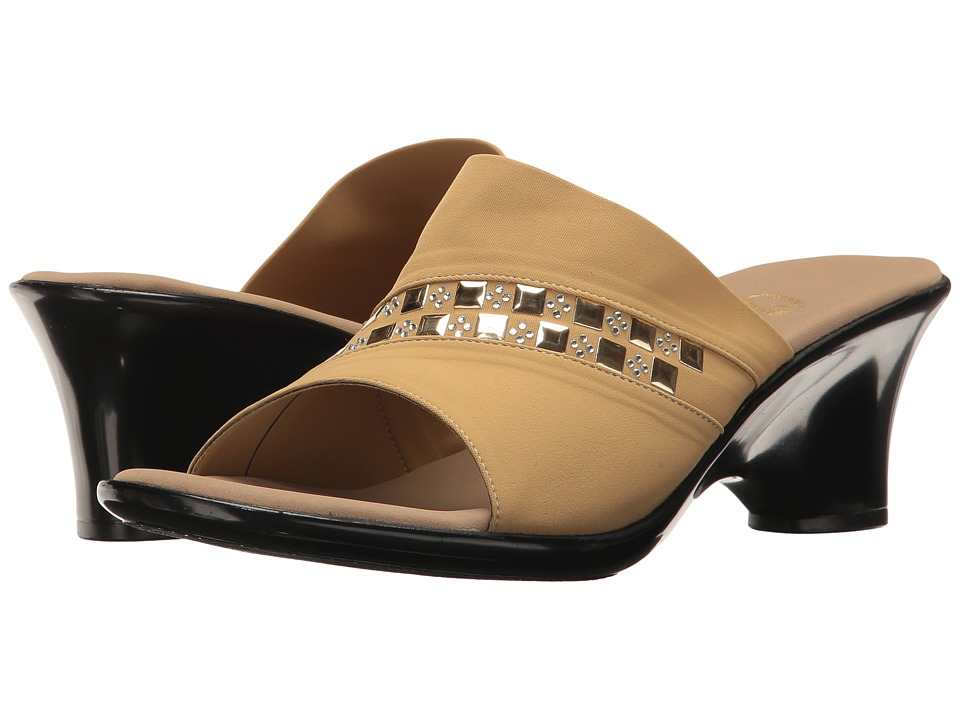Onex - Maggy (Tan Elastic) Women's Sandals