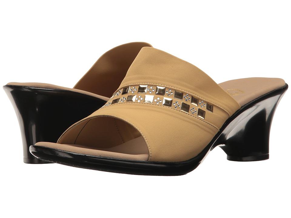 Onex - Maggy (Tan Elastic) Women's Sandals
