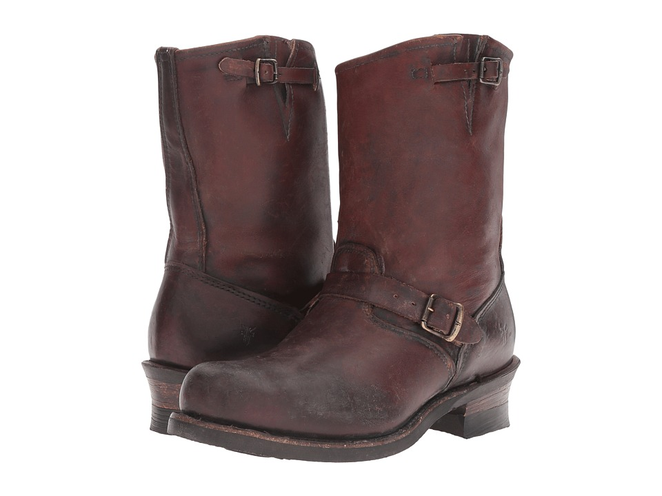 Frye Engineer 12R (Dark Brown) Men
