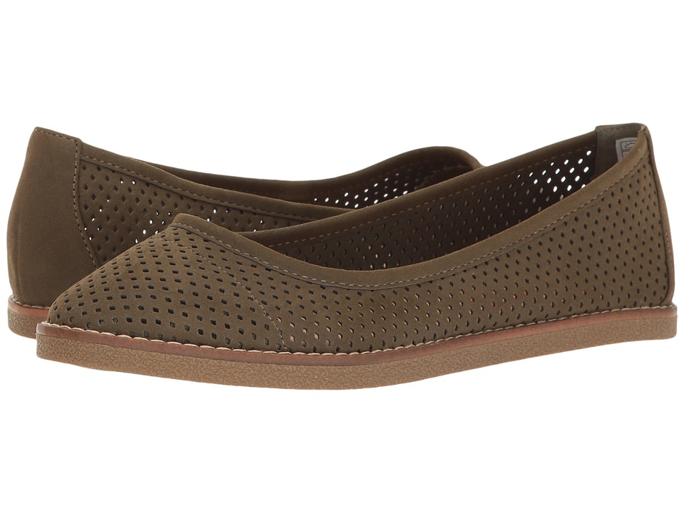 Rocket Dog - Kaira (Olive Francois) Women's Slip on Shoes