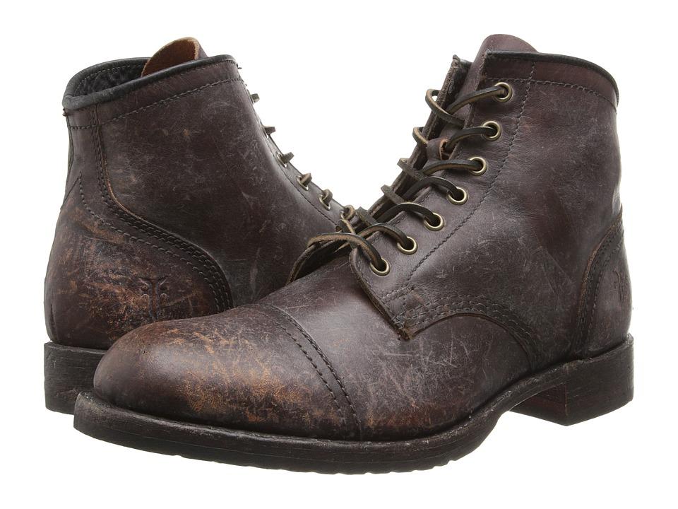 Frye - Logan Cap Toe (Whiskey) Cowboy Boots