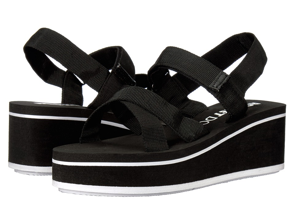 Rocket Dog - Codes (Black Webbing) Women's Sandals