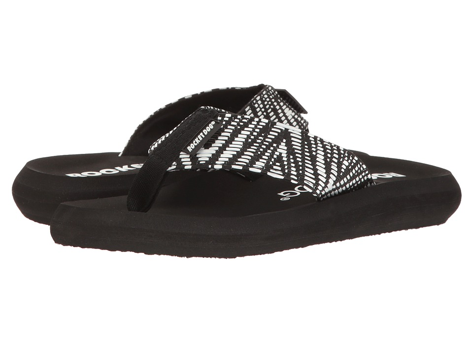 Rocket Dog - Spotlight Comfort (Black Zest) Women's Sandals