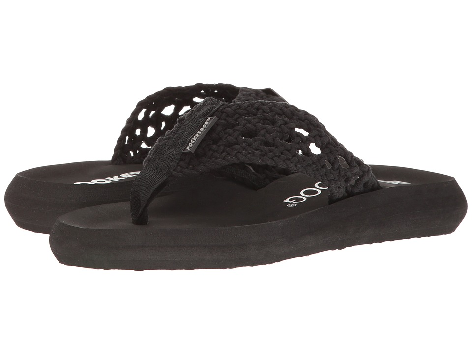 Rocket Dog - Spotlight Comfort (Black Stapleton) Women's Sandals