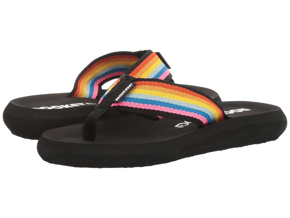 Rocket Dog - Spotlight Comfort (Pink Multi Spicy Webbing) Women's Sandals