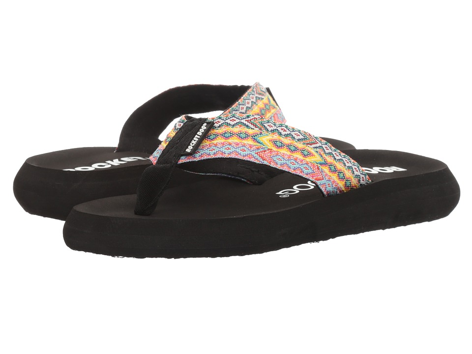 Rocket Dog - Spotlight Comfort (Black Multi Webster) Women's Sandals