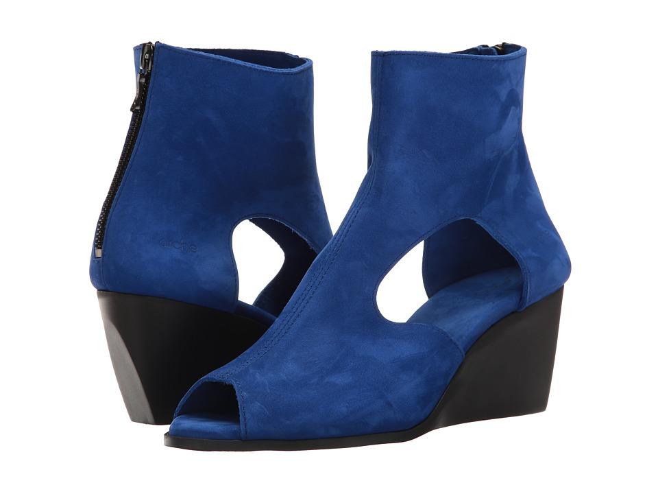 Arche - Egoria (Sapphire Nubuck) Women's Shoes