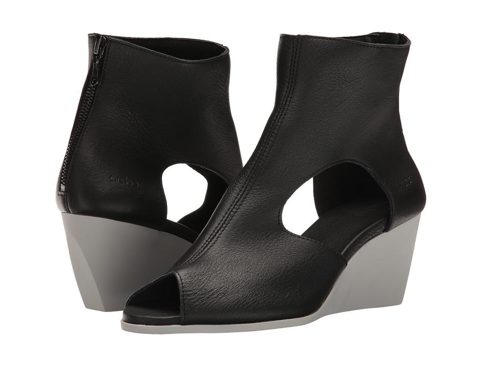 Arche - Egoria (Noir Vachette Fast) Women's Shoes