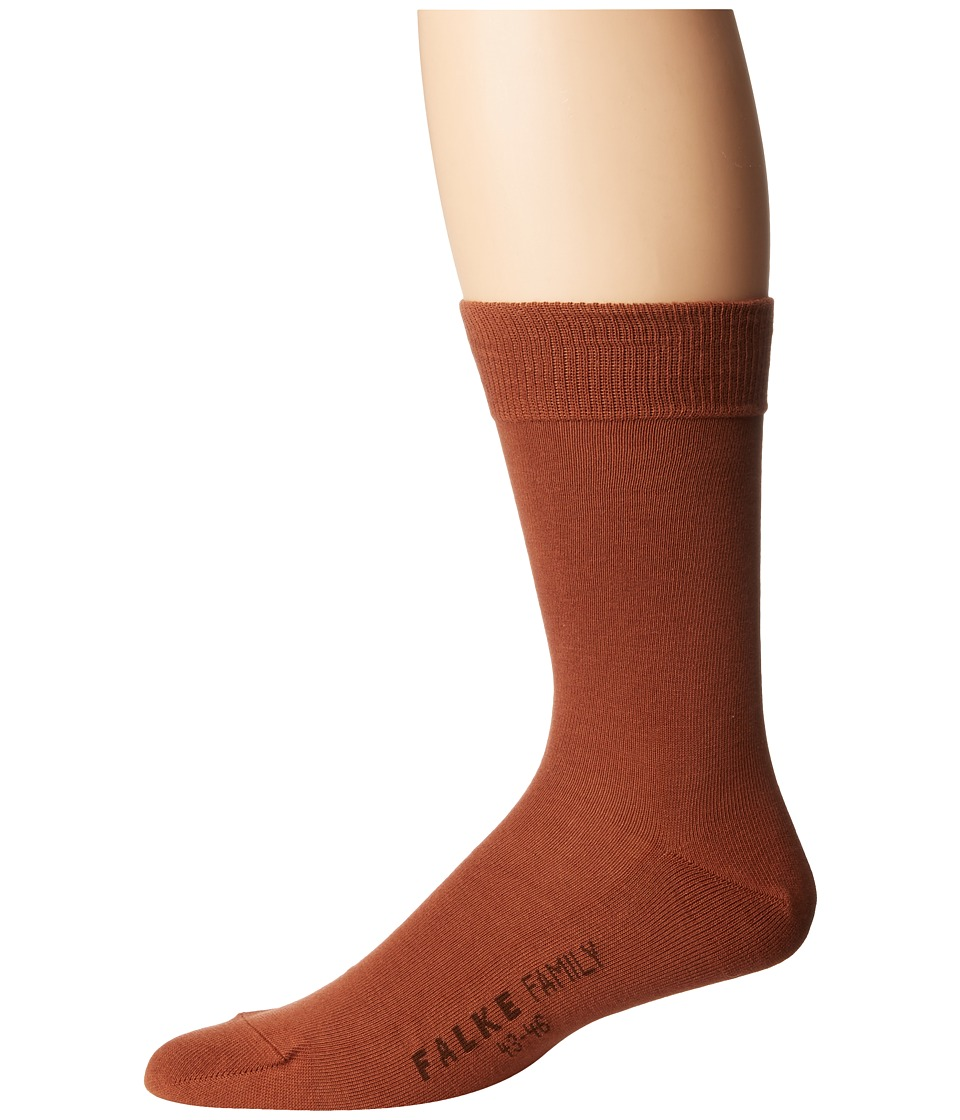Falke - Family Sock (Cinnamon 1) Men's Crew Cut Socks Shoes