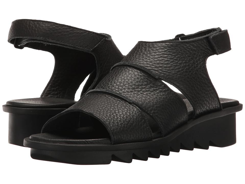 Arche - Ikhana (Noir Vachette Fast) Women's Shoes