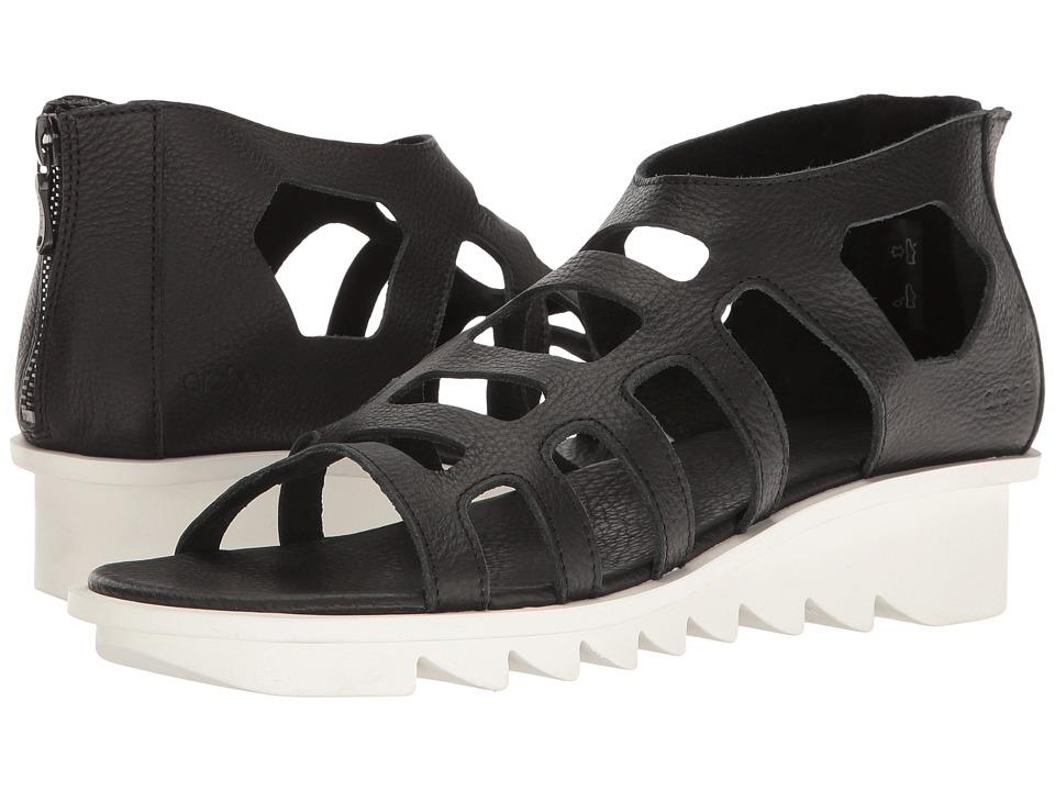 Arche - Ikyade (Noir Vachette Fast) Women's Shoes