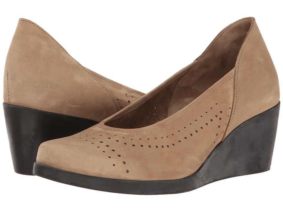 Arche - Jodici (Sand Nubuck) Women's Shoes