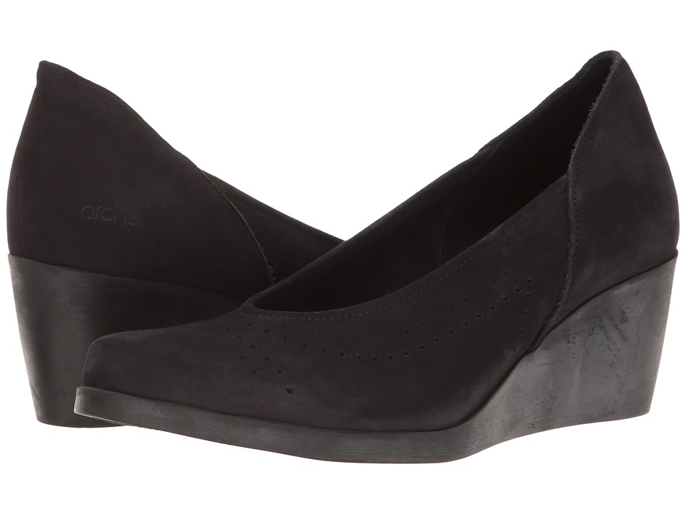 Arche - Jodici (Noir Nubuck) Women's Shoes